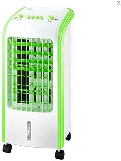 XBSLJ Aire Acondicionado y Calefactor de Aire Acondicionado portátil, Iones Negativos de Ventilador de aspa de Seguridad de Escritorio para mesita de Noche, Oficina y Sala de Estudio-A (frío Simple)