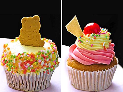 5 ways to make Beautiful Cupcakes