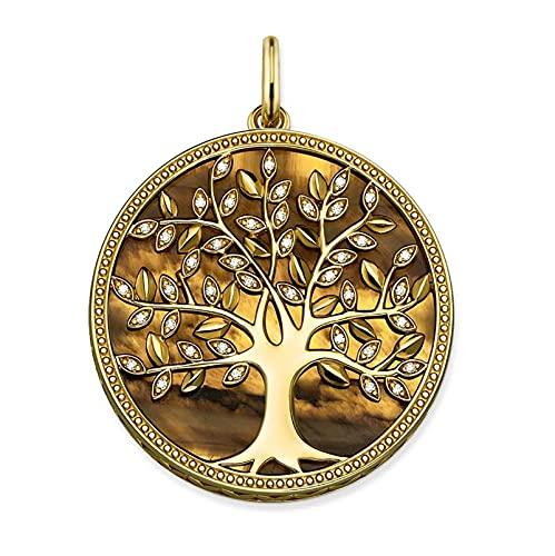 Colgantes De Oro De Los Árboles, 925 Pendientes De Plata Esterlina Accesorios Regalo For Las Formas De Mujeres Inspiradas En La Naturaleza