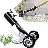 Beita Weed Puller Tool with Wheels, Stand Up Weeding Tools for Garden Patio Backyard Lawn Sidewalk Driveways Weeds(No handle)