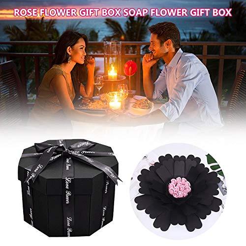 Fancylande box met explosies om zelf te maken, cadeaubox voor verjaardag, Valentijnsdag, trouwdag, huwelijk