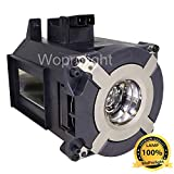 for NEC NP42LP Replacement Premium Quality Projector Lamp for NEC PA653U PA703W PA803U Projector by WoProlight