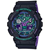 Casio G-Shock GA100BL-1A Black and Purple Resin Watch