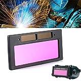 Lente de soldadura fotoeléctrica de cristal líquido para apertura de ventana, filtro de lente de soldadura con pantalla DIN4 – DIN9 solar oscurecimiento lente de seguridad