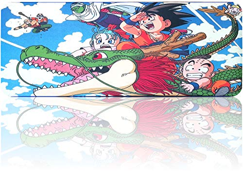 Anime Mouse Pad Large Extended Gaming Anime Mousepad, Non-Slip Water-Resistant Rubber Base Mouse Mat(31.5'x11.8')