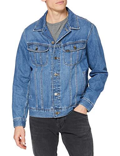 Lee Rider Jacket Chaqueta Vaquera, Camden Lavado, XXXL para Hombre