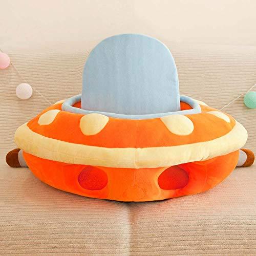 Säuglings-Baby-Sitting Stuhl Unterstützung-Plüsch-Stuhl sitzen mich herauf Sitz-Soft-Baby-Support-Sitzstuhl-Portable-Dining Chair Unterstützung mit Spielzeug Befestigung Sicherheitssitz für Baby-,B