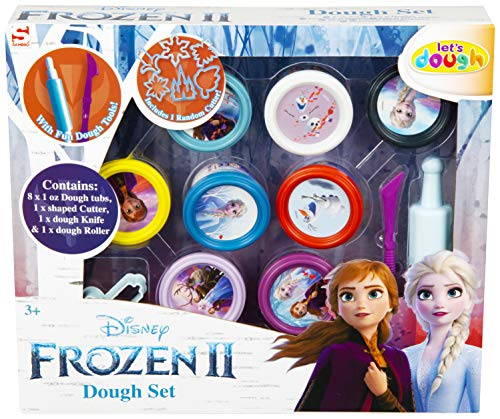Sambro Frozen 2 - Juego de Masa, Multicolor