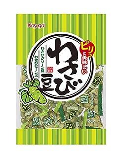 春日井製菓 わさび豆 105g ×4袋