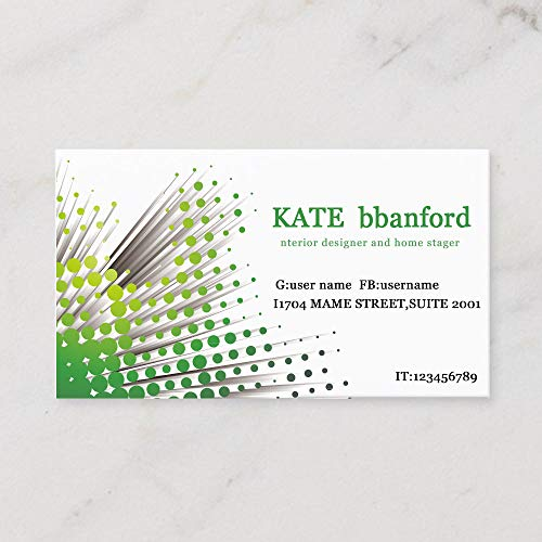 Business Cards Customizable Printable Avery Printable Vista Print Business Cards Green Wave Point Simple And Minimal Design