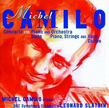 Michel Camilo: Concerto for Piano & Orchestra; Suite for piano, harp & strings; Caribe