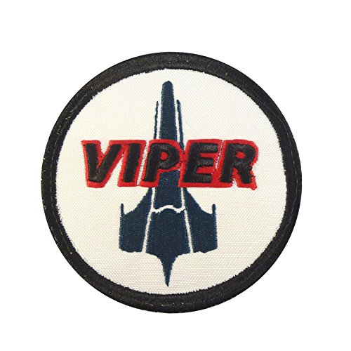 2AFTER1 Battlestar Galactica Viper Pilot BSG Embroidered Touch Fastener Patch
