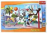 TREFL - Puzzle con Marco Looney Tunes de 15 Piezas (31109)