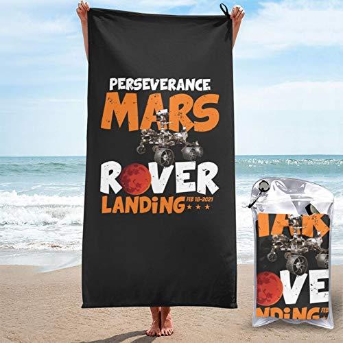 Por severancia de la NASA Marte 2020 vuelo espacial 2021 ingenio memorabilia Marte toalla de playa toalla conjunto pascua cómoda sequedad baño gimnasio colección para adultos niñas y niños