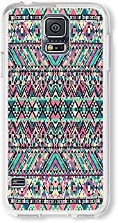 Samsung S5 Case AOFFLY American Horror Story New Fashion Popular American Horror Story Clear PC Hard Case For Samsung Galaxy S5