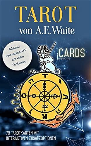 Tarot von A.E. Waite - iCards: 78 Karten mit App. Mit Texten von Hajo Banzhaf und Noemi Christoph: 78 Tarotkarten mit interaktiven Zusatzoptionen (Inklusive innovativer APP mit vielen Funktionen)