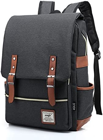 AchirStyle Slim Business Laptop Backpack Elegant Casual Daypacks Outdoor Sports Rucksack School Shoulder Bag for Men ...