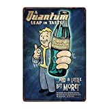 Alishopp Bar Signs, Sign Plate, Metal Painting, Fallout 3 4 Game Nuke COLA Metal Signs Wall Poster Decor for Home Room School Iron Painting FG-233 WA 3002