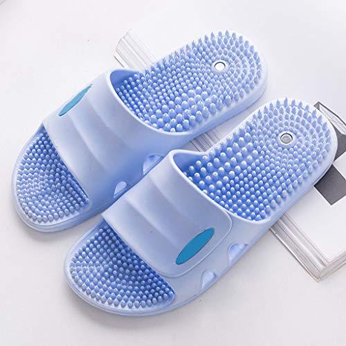 Acupunctuur massage slippers massage antislip badslippers unisex ontspannende massagetherapie kan pijn in de benen en vermoeidheid verlichten