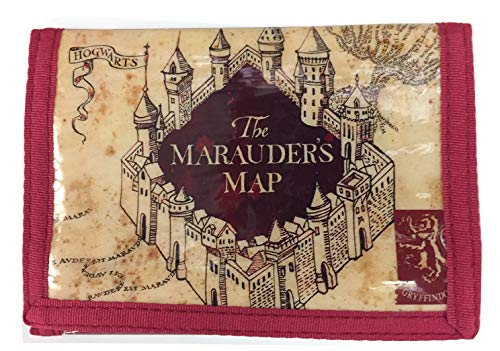 Harry Potter Marauder's Map Tri-Fold Wallet