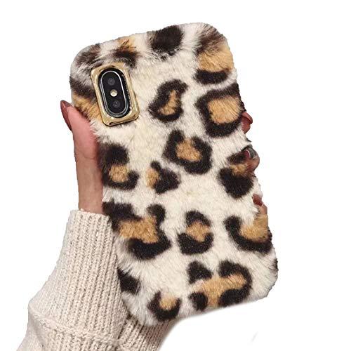 RosyClouds Funda para iPhone 11 Pro XR XS Max X 7 8 Plus de piel suave de piel de leopardo para iPhone 11 Pro Max