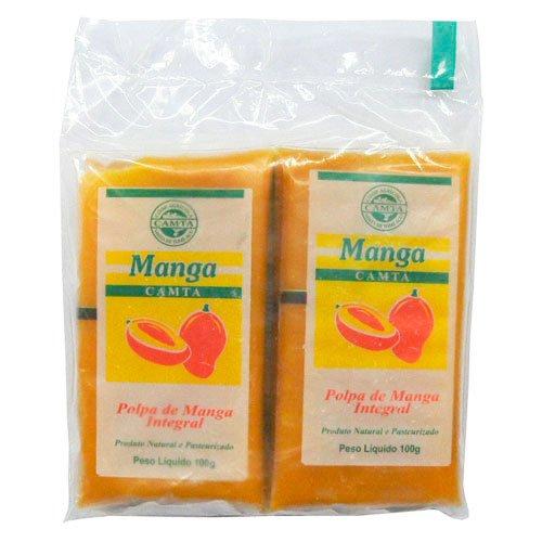 フルッタフルッタ マンゴー フルーツ パルプ ( ピューレ ) 冷凍 400g マンゴージュース ストレート ブラジル産 FRUTA FRUTA (3個)