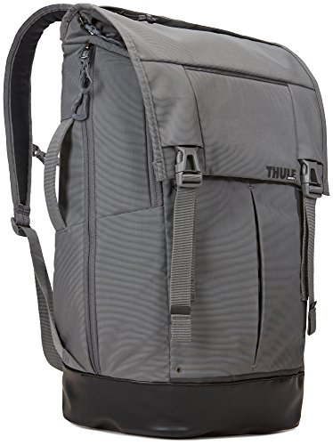 Thule 153953 Paramount Rucksack (Großes Laptop/Tablet-Fach, SafeZone-Fach, Robustes 420D-Nylon) Grau, 29L