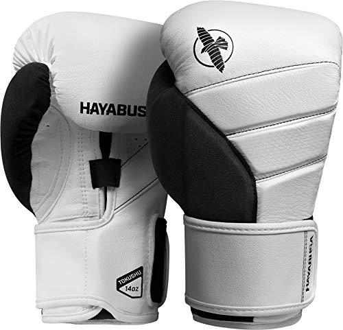Hayabusa T3 Boxing Gloves - White/Grey, 16oz