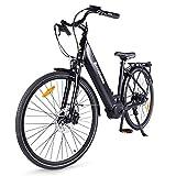 Accolmile Vélo à Assistance Électrique 28' 700C, Bafang Moteur Pédalier M200 250W, Batterie Lithium-ION Amovible 36V 15Ah 540Wh, Shimano 8 Vitesses Vélo à Assistance Électrique pour Adultes