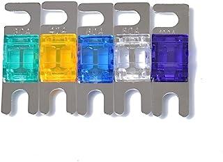 Carviya 5 Pack Mini ANL Fuses 30 Amp 40Amp 60Amp 80 Amp 100 Amp (30/40/60/80/100 Amp Combine)