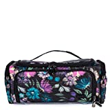 Lug Women's Trolley Cosmetic Case, Bloom Black, One Size