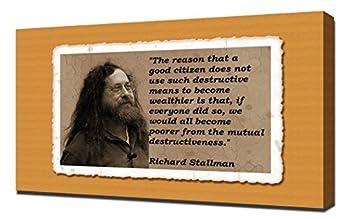 Richard Stallman Quotes 5 - Canvas Art Print