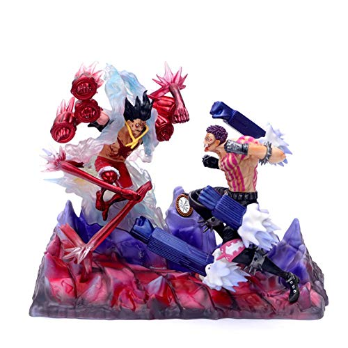 AHAI YU One Piece Luffy VS KATAKURI Personaje Estatua Decoraciones/Colecciones/Artesanía/Navidad