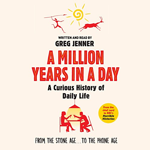 A Million Years in a Day audiobook cover art