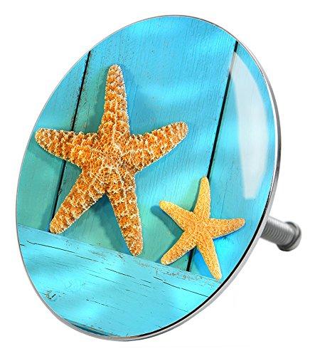 Badewannenstöpsel Starfish, deckt den kompletten Abflussbereich ab, hochwertige Qualität ✶✶✶✶✶