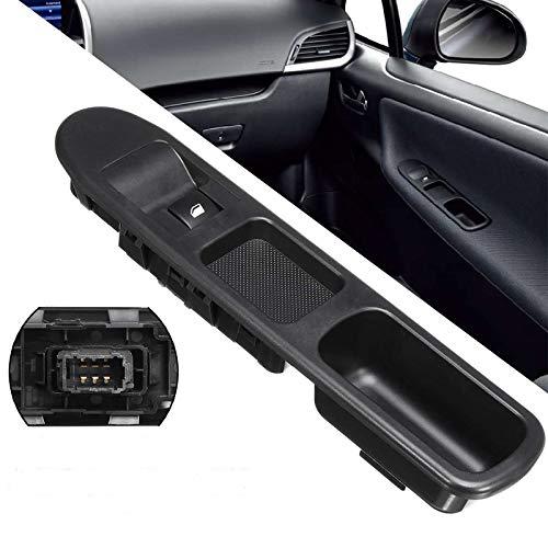 Jinxuny Botón de Control del Interruptor de la Ventana de Control Principal eléctrico del Lado del Conductor para Peugeot 207 2007-2015,6 Pasadores Interruptor de la Ventana del Lado del Pasajero