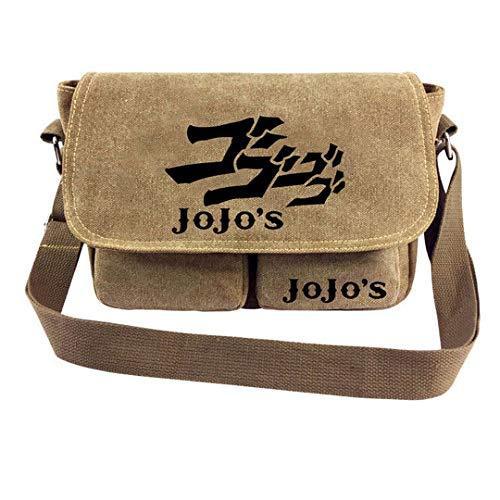 JoJo's Bizarre Adventure Jotaro Kujo Joseph Joestar Japanische Anime Kuriertasche Schultertasche Handtasche Umhängetasche 190311