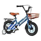 ZLI Bicicletas Infantiles Bicicletas para Niños al Aire Libre para Niño, de 2 a 12 Años con Sillín y Manillar Ajustables, Bicicleta Infantil para Regalo de Cumpleaños, Carga 110kg (Size : 12inch)