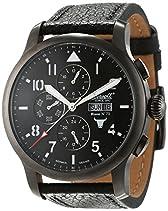 Ingersoll Herren-Armbanduhr Bison No. 72 Chronograph Automatik Leder IN1221GUBK