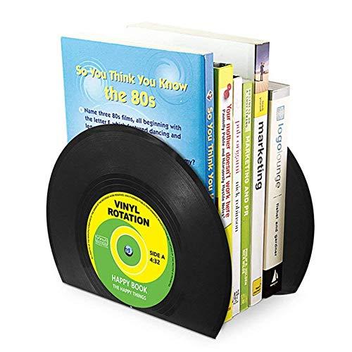 Shager 1 Paar Disc Buchstützen Book Ständer Schreibtisch Organizer Office Home Buchstützen Buchhalter 17.5cm X 13.4cm