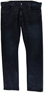 Mens Whiskered Stretch Jeans