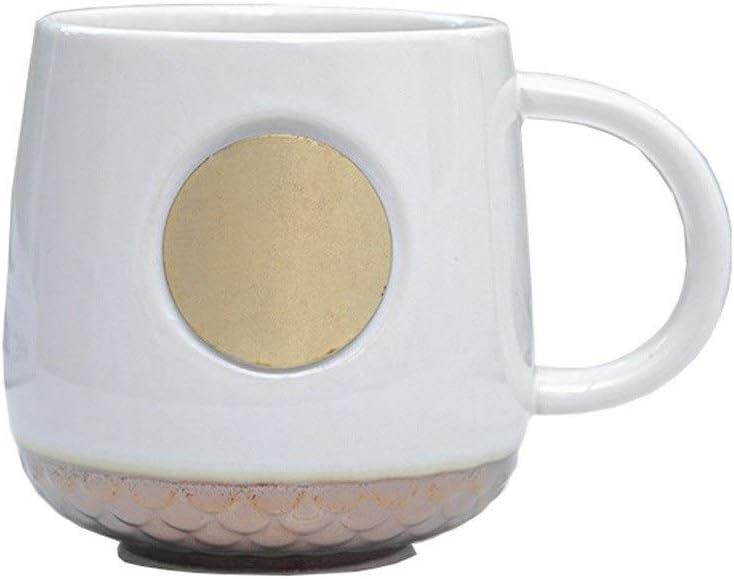Max 89% OFF Mug Ceramic Branded goods Classic Black Cu Coffee White Bronze