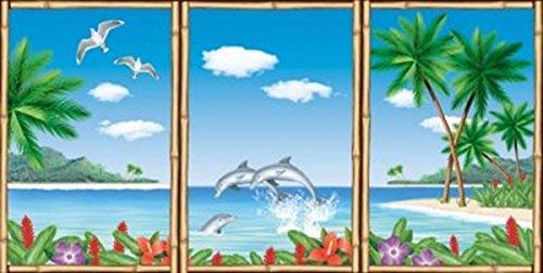 Generique - Décorations murales île paradisiaque
