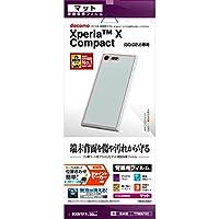 ラスタバナナ Xperia X Compact SO-02J フィルム 反射防止 エクスペリアX コンパクト 背面保護フィルム T769XPXC