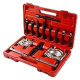 Magorfas Bearing Puller Set 5-Ton-Capacity Bearing Separator Wheel Hub Axle Puller Set Pinion Bearing Removal Tool Kit Bearing Splitter