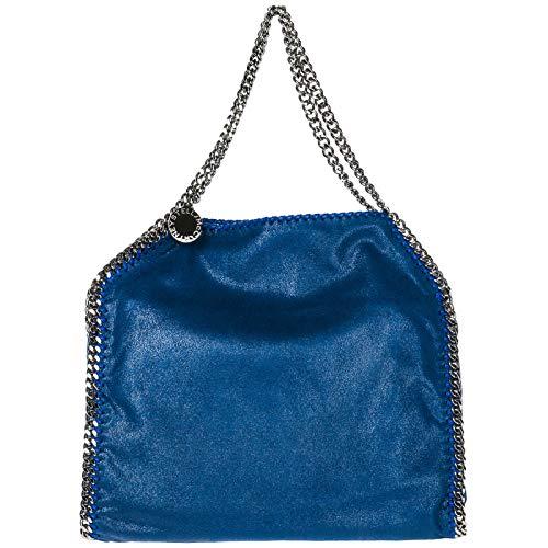 Stella McCartney borsa a spalla falabella small donna blu