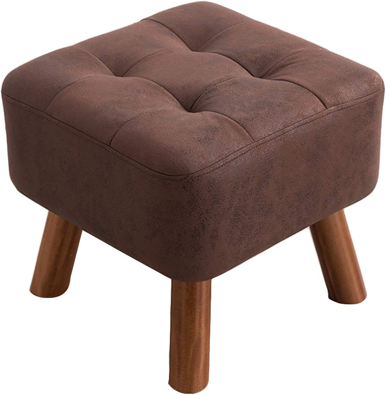 Change shoes Stool - Solid Wood Stool Stool Fashion Creative Sofa Bench Coffee Table Wear shoes Sitting Pier Dressing Footstool shoes Bench (color   B)
