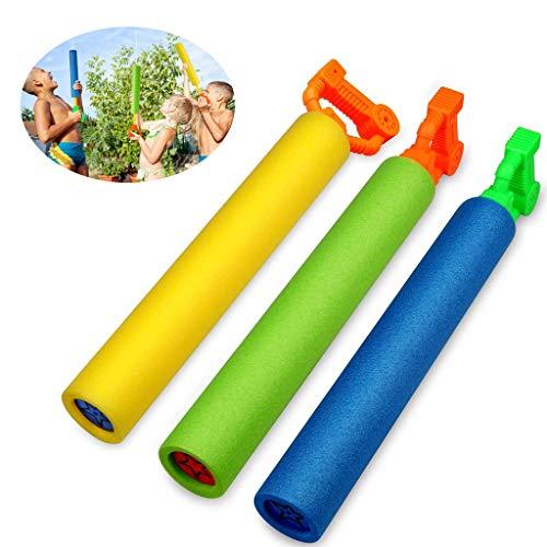 Waterpistolen Voor Kinderen, 8-pack Super Soaker Foam Water Blaster Shooter Zomer Zacht En Duurzaam Plezier Buiten Zwembadspellen Speelgoed Voor Jongens Meisjes Volwassenen, Vechtspeelgoed