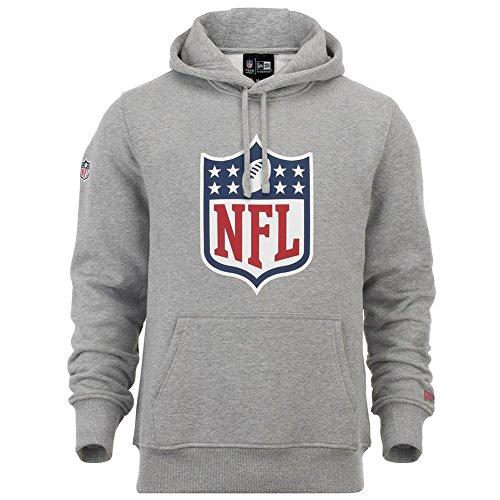 New Era NFL Team Logo Heather Grey Hoody - XXL