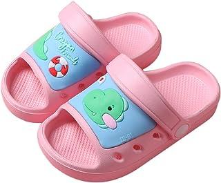 Sandales Enfants Pantoufles Plage Licorne Filles Chaussures pour Piscine Dinosaure Bébé Chaussons Douche Garçon